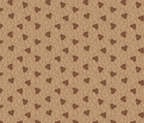 I Love Coffee  fabric by jabiroo on Spoonflower - custom fabric