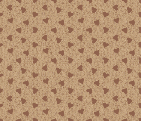 I Love Coffee  fabric by jabiroo on Spoonflower - custom fabric