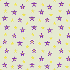 Purple and Yellow Stars (small)