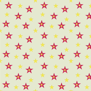 Red and Yellow Stars (small)