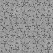 Grey Stars on Grey