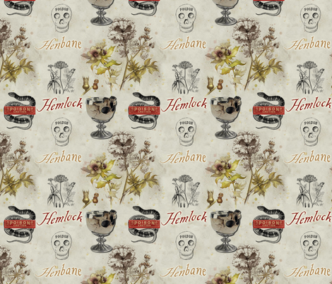 hemlock and henbane fabric by ajr51594 on Spoonflower - custom fabric