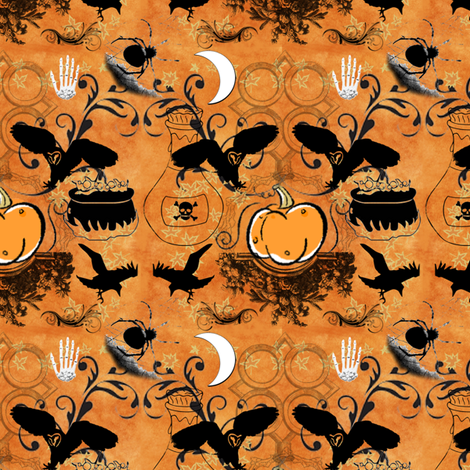 harvest damask fabric by ajr51594 on Spoonflower - custom fabric
