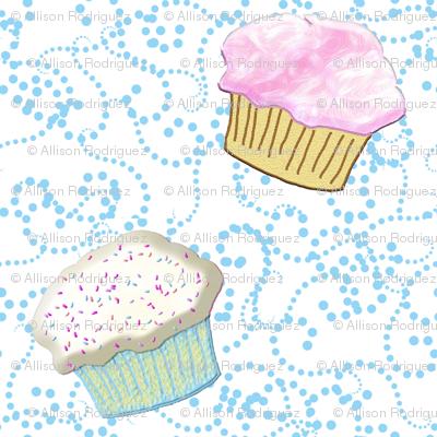 cupcake rumba white