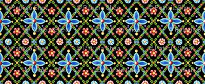Millefiori Heraldic Lattice