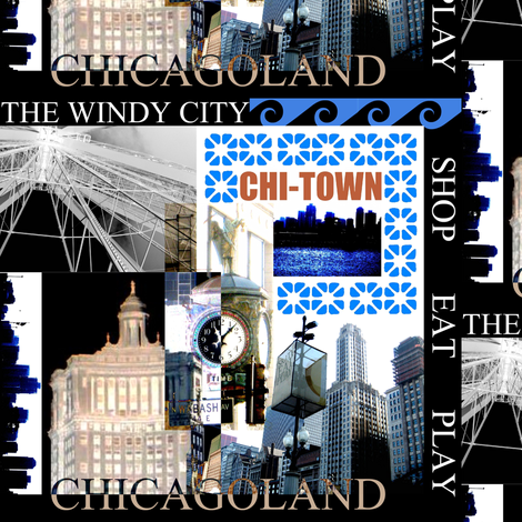 Chi-Town USA fabric by paragonstudios on Spoonflower - custom fabric