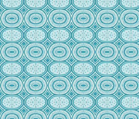 Cosmic Cycle fabric by siya on Spoonflower - custom fabric