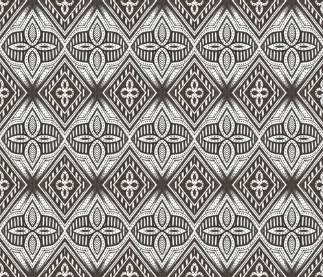 Masquerade Diamonds fabric by siya on Spoonflower - custom fabric