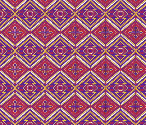 Arizona Diamonds fabric by siya on Spoonflower - custom fabric