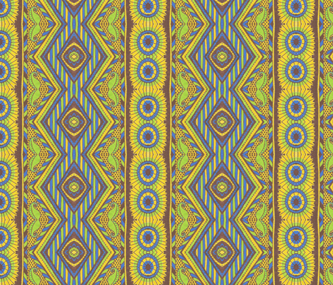 Country Sun fabric by siya on Spoonflower - custom fabric