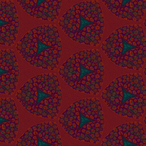 scales juicyberry fabric by glimmericks on Spoonflower - custom fabric