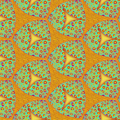 scales tropicberries fabric by glimmericks on Spoonflower - custom fabric