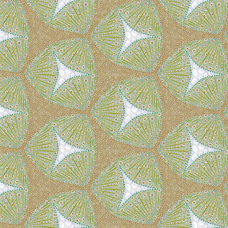 scales beachberries fabric by glimmericks on Spoonflower - custom fabric