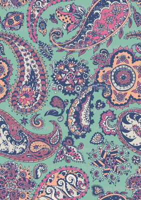 Paper Paisley