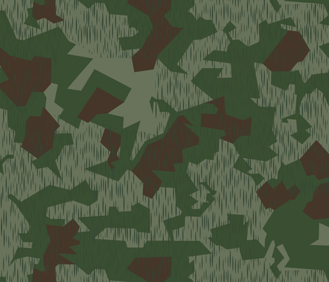 Splinter B Crete Camo fabric by ricraynor on Spoonflower - custom fabric