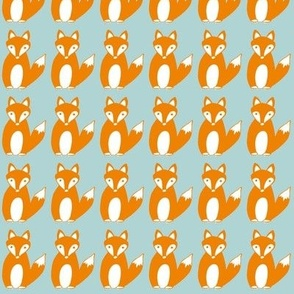 Foxy Loxy Blue by Loula Belle At Home
