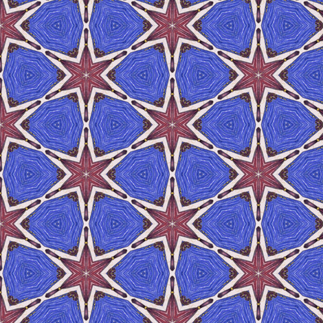 Bandar's Stars fabric by siya on Spoonflower - custom fabric