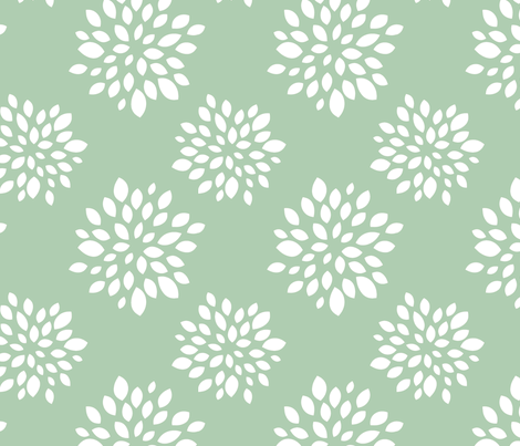 Robin Succulent fabric by tradewind_creative on Spoonflower - custom fabric