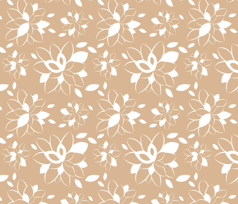 Rose Bloom fabric by tradewind_creative on Spoonflower - custom fabric
