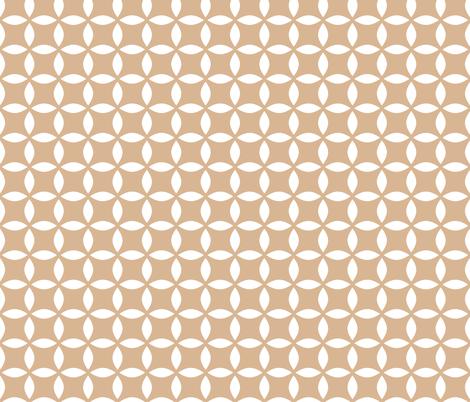 Star Rose  fabric by m0dm0m on Spoonflower - custom fabric