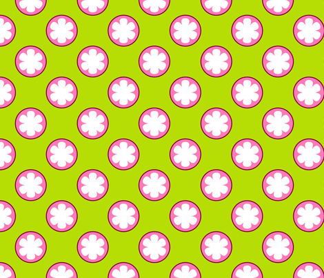 Mangosteen Fruit fabric by nekineko on Spoonflower - custom fabric