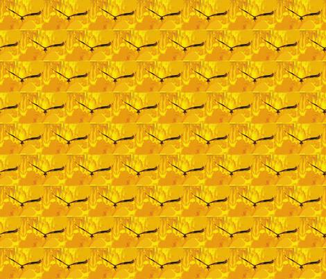 Eagle Graffiti, S fabric by animotaxis on Spoonflower - custom fabric
