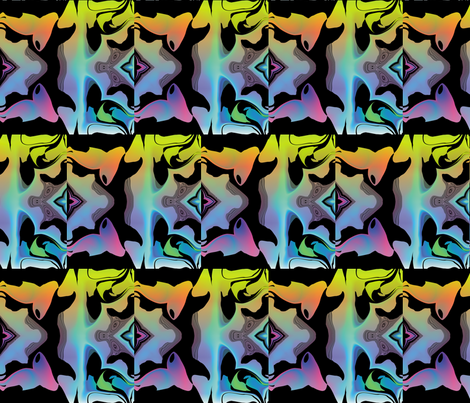 Graffiti Graphic 1, L fabric by animotaxis on Spoonflower - custom fabric