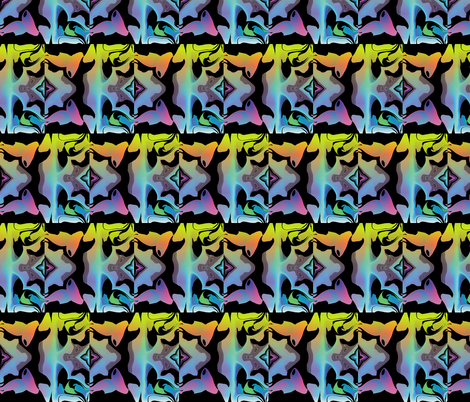 Graffiti Graphic 1, S fabric by animotaxis on Spoonflower - custom fabric