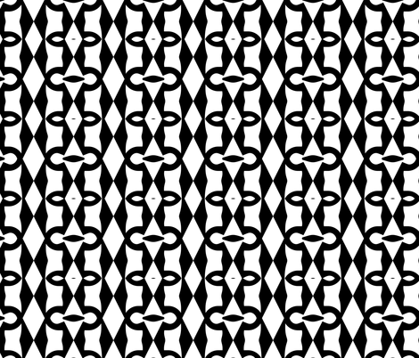 Graffiti Graphic 4, S fabric by animotaxis on Spoonflower - custom fabric