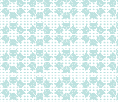 6Gattini Pois All Blue fabric by gaia_segattini on Spoonflower - custom fabric
