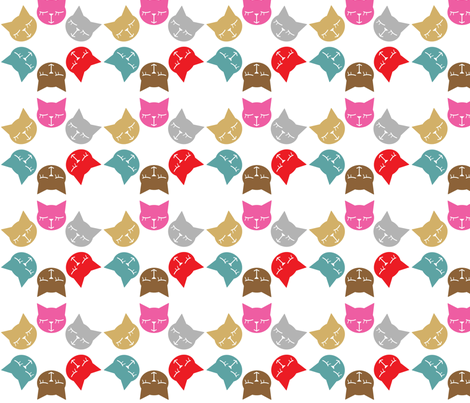 6Gattini Raimbow fabric by gaia_segattini on Spoonflower - custom fabric