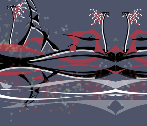 peisaj_urban fabric by silviana on Spoonflower - custom fabric