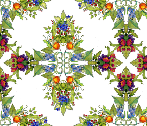 formalfleurs fabric by golders on Spoonflower - custom fabric