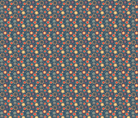 Desert Bloom by Cheerful Madness!! fabric by cheerfulmadness_cartoons on Spoonflower - custom fabric