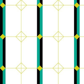 Deco Geometric Stripe