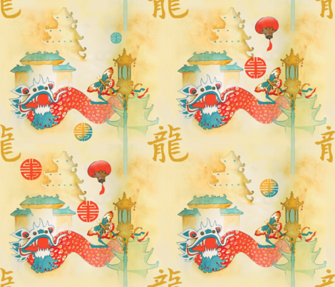 chinatown_san_francisco fabric by golders on Spoonflower - custom fabric