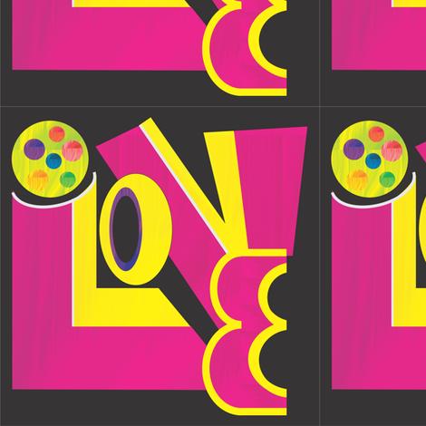 Graffiti_spoonflower3_1_2012 fabric by compugraphd on Spoonflower - custom fabric