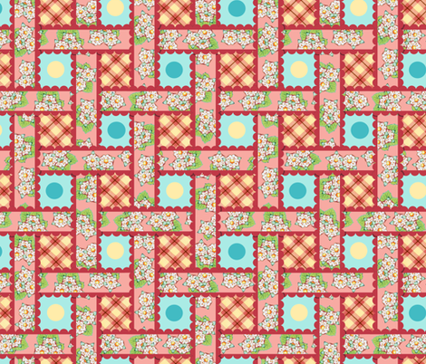 Heidi Folkloric Weave by Patricia Shea fabric by patricia_shea on Spoonflower - custom fabric