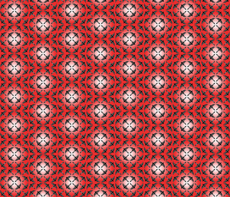 flock red fabric by atomic_bloom on Spoonflower - custom fabric