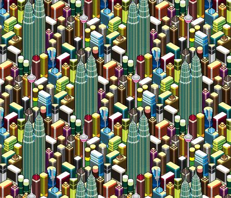 Kay Elle City Yeah! fabric by ravenous on Spoonflower - custom fabric