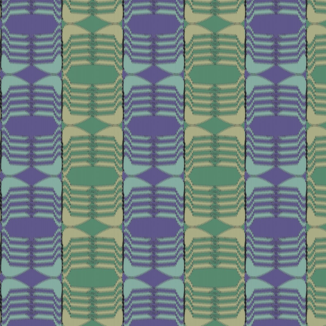 Ski Hat (Purple/Green) fabric by david_kent_collections on Spoonflower - custom fabric