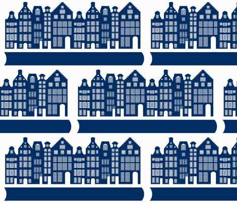 Amsterdam fabric by fluffygeek on Spoonflower - custom fabric