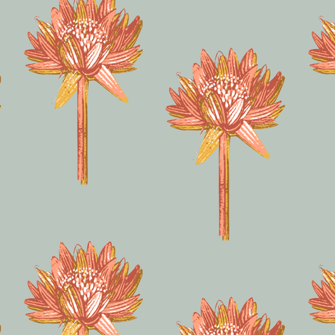flora fabric by the_collectionist on Spoonflower - custom fabric
