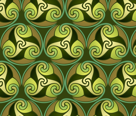 earthly hues fabric by hannafate on Spoonflower - custom fabric