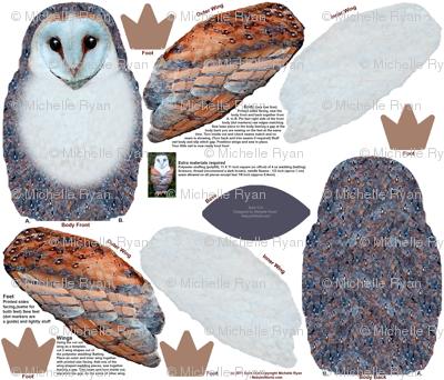 Barn Owl Plushie