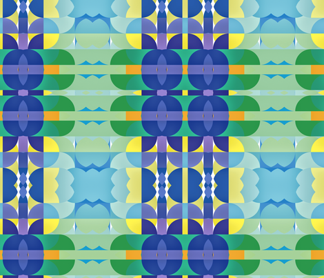 Art Deco 2, L fabric by animotaxis on Spoonflower - custom fabric