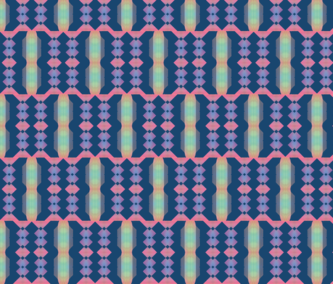 Art Deco 4, S fabric by animotaxis on Spoonflower - custom fabric