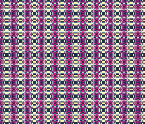 Art Deco Tiles 1, S fabric by animotaxis on Spoonflower - custom fabric