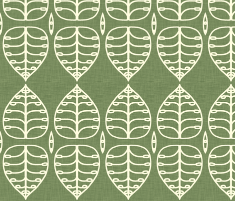 green_leaf fabric by holli_zollinger on Spoonflower - custom fabric