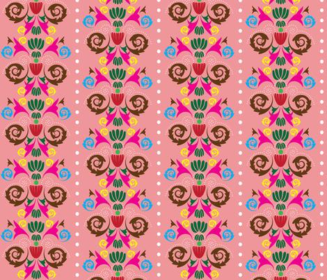 Multi-Damask - Pink